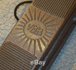 1930s Vega Acoustic Electric Guitar, Lap Steel, Steel, Volume Pedal, Rare