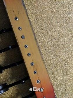 1950's 1960's Fender pedal steel guitar 400 800 1000 board pedals (6)