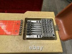 1955 Multi-Kord Harlin Bros. Pedal Steel Guitar Rare 6 String 4 Pedal VIDEO