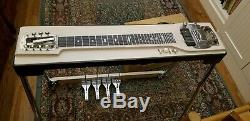 1958 Fender 4 pedal steel guitar excellent condition. Amp not included