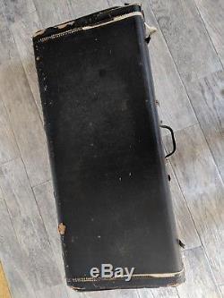 1960's Fender 1000 pedal steel guitar hard case
