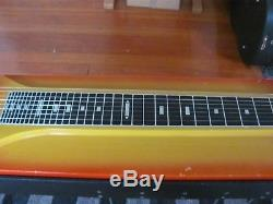 1960's Fender 400 Pedal Steel Guitar with Original Case