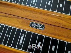 1960s Fender 1000 pedal steel guitar body sunburst 1962
