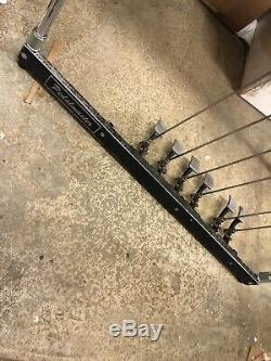 1967 Pedalmaster Double Neck 10 string Pedal Steel Guitar with cases Sho Bud