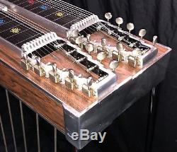1973 Emmons D-10 Pedal Steel Guitar 8&4 8 Pedals 4 Knee Levers Mica Fatback