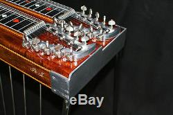 1974 Sho-Bud Pro II D-10 Pedal Steel Guitar Double Neck 8 + 2 E9th + C6th