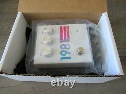 1981 Inventions DRV White Hyperfade Guitar Effects Distortion Pedal Brand New
