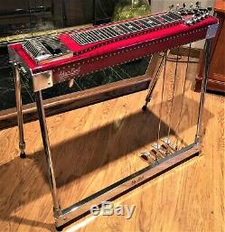 Absolutely Stunning 1973 Sho Bud, S-10 pedal steel guitar! Time Capsule
