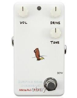 Animals Pedal SURFING BEAR OVERDRIVE BRAND NEW Guitar Effect Pedal