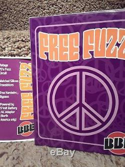 BBE Free Fuzz Effect Guitar Pedal Brand New! With power supply