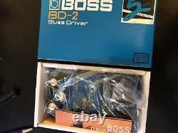 BOSS / BD-2 Blues Driver Guitar Effects Pedal. BRAND NEW IN BOX! L@@K