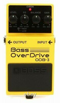 BOSS Bass OverDrive ODB-3 BRAND Guitar Effect Pedal ODB3 0761294035474