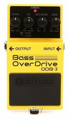 BOSS Bass OverDrive ODB-3 BRAND NEW Guitar Effect Pedal