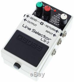 BOSS Line Selector LS-2 A/B BRAND NEW Guitar Effect Pedal