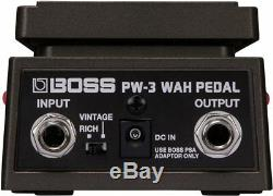 BOSS PW-3 Wah Pedal BRAND NEW Guitar Effect Pedal