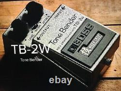 BOSS TB-2W Waza Craft Tone Bender MKII Fuzz Guitar Effects Pedal (BRAND NEW)