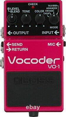 BOSS VO-1 Vocoder Guitar Effect Pedal from Japan Brand-New