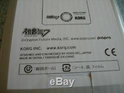 BRAND NEW! Korg Hatsune Miku Stomp Vocaloid Guitar Effects Pedal in Orig Box