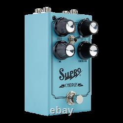 BRAND NEW SUPRO 1307 ANALOG CHORUS GUITAR EFFECT PEDAL With VIBRATO SWITCH