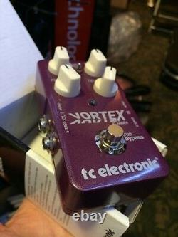BRAND NEW TC Electronic Vortex Flanger Guitar Effects Pedal from Sonic Sense
