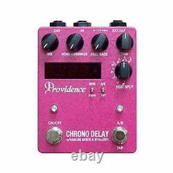 BRAND NEWProvidence DLY-4 Chrono Delay Guitar effect pedal CHRONO DELAY