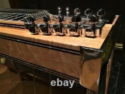 Beautiful Desert Rose Vintage pedal steel guitar! 3x5