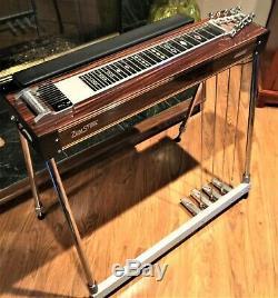 Beautiful Zumsteel Encore S-10 professional pedal steel guitar