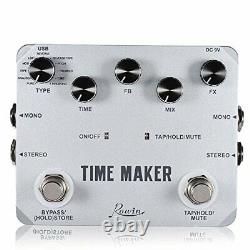 Best Brand Time Maker 11 Types of Ultimate Delay Bass Guitar Effect Pedal