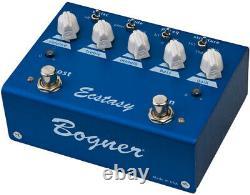 Bogner Ecstasy Blue Overdrive/Distortion/Boost Guitar Pedal Sealed Brand New