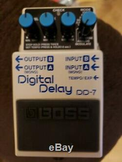Boss DD-7 Delay Guitar Effect Pedal USED In Brand New Condition