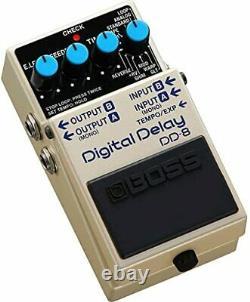 Boss DD-8 Digital Delay Guitar Effects Pedal Brand New