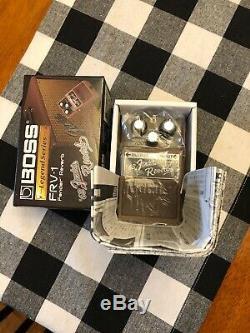 Boss Fender FRV-1 Reverb Guitar Effect Pedal Brand New In Box