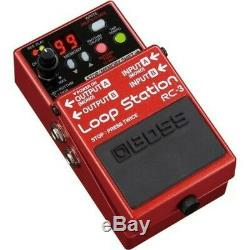Boss RC-3 Guitar Loop Station Stereo Effect Pedal Brand New Free Ship withTracking