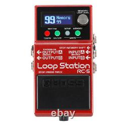 Boss RC-5 LOOP STATION Guitar Effect Pedal Brand-New