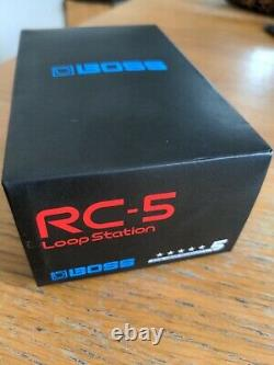 Boss RC-5 Loop Station Guitar Loop Pedal Brand New