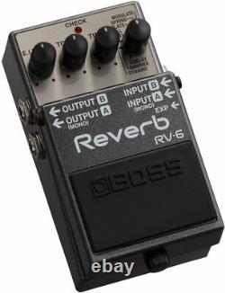 Boss RV-6 Reverb Guitar Effect Pedal, Brand New, NIB