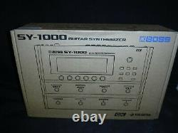 Boss SY-1000 Guitar Synthesizer Pedal Brand new