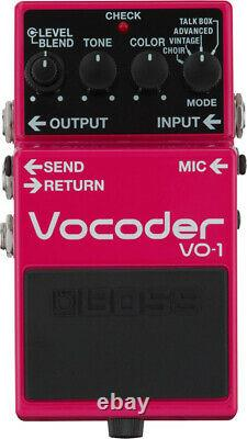 Boss VO-1 Vocoder Guitar Effects Pedal BOdy Only Brand New Japan