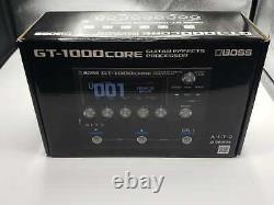 Brand New Boss GT-1000CORE Guitar Multi Effects Guitar Pedal OPEN BOX NEW