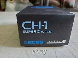 Brand New Boss Super Chorus CH-1Guitar Pedal Made in Taiwan