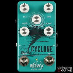 Brand New Crazy Tube Circuits Cyclone Analog Phaser Electric Guitar Pedal