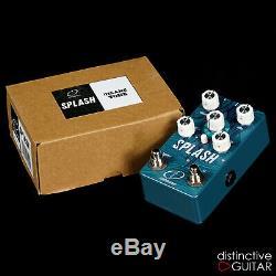 Brand New Crazy Tube Circuits Splash VIII Mk4 Reverb Guitar Effects Pedal