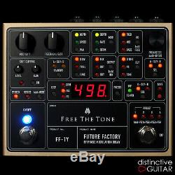 Brand New Free The Tone Future Factory Ff1y Delay Electric Guitar Effect Pedal
