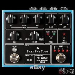Brand New Free The Tone Ta-1h Tri Avatar Three Phase Chorus Guitar Effects Pedal