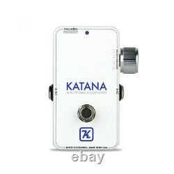 Brand New In Box Keeley Katana Throwback White Edition Clean Boost Guitar Pedal