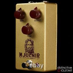 Brand New Mythos Mjolnir Overdrive Klon Style Guitar Effects Pedal