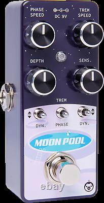 Brand New Pigtronix Moon Pool Phaser Analog Modulation Guitar Effect Pedal