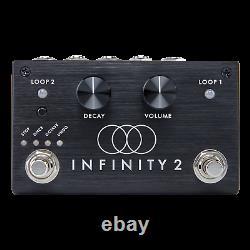 Brand New Pigtronix Spl2 Infinity 2 Hi-fi Double Looper Guitar Effect Pedal