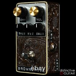 Brand New Shin's Music Brown Drive Overdrive Guitar Effect Pedal Brown Western