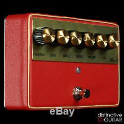 Brand New Shin's Music Mk2 Drive Overdrive Guitar Pedal Plexi Tone Red Tolex